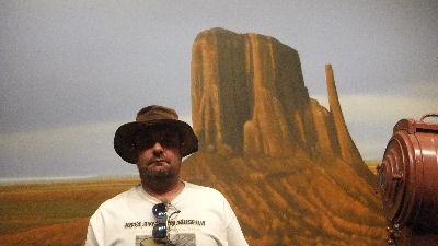 Me at the John Wayne Birth Place Museum.