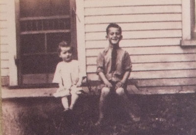 John Wayne and His Baby Brother