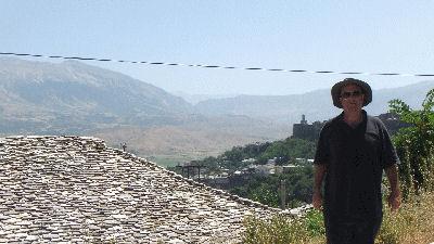 Me in Albania