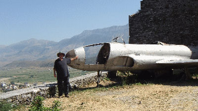 Me with a US Spy Plane
