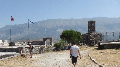 Walking around the castle