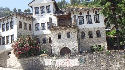 Enver Hoxhas childhood home.